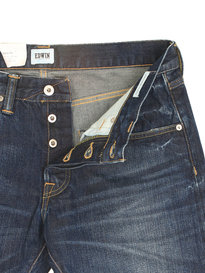 Edwin ED-55 Rainbow Selvage Blue