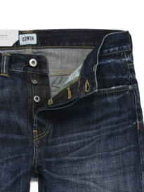 Edwin ED-80 Dark Blue Contrast Wash Denim