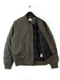 EDWIN FLIGHT JACKET POPLIN COTTON GREEN