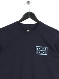 Edwin Gang Long Sleeve T-Shirt Navy