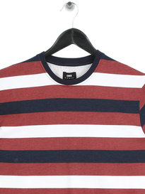 Edwin George Stripe T-Shirt Multicoloured