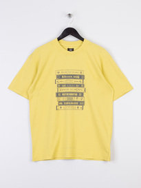 Edwin Hi-Powa T-Shirt Yellow