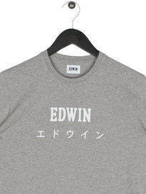 Edwin Japan Short Sleeve T-Shirt Grey