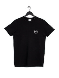 EDWIN LOGO T-SHIRT BLACK