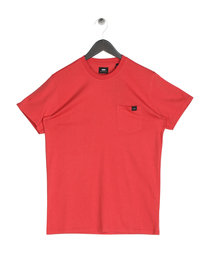 Edwin Pocket Short Sleeve T-Shirt Red