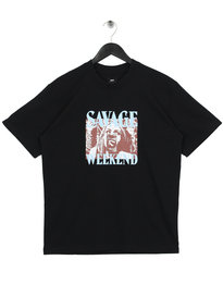 Edwin Savage Weekend T-Shirt Black