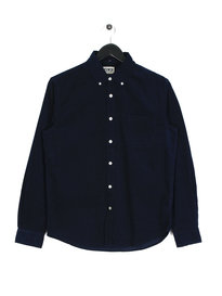 Edwin Standard BabyCord Long Sleeve Shirt Navy