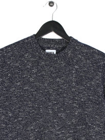 Edwin Standard Flocon Flamme Sweat Navy