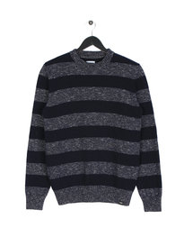 Edwin Standard Stripes Sweat Navy