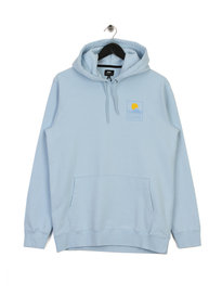 Edwin Sunset On MT Fuji Hoody Blue