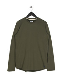 Edwin Terry Long Sleeve T-Shirt Green
