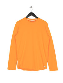 Edwin Terry Long Sleeve T-Shirt Yellow