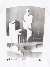 Edwin The FFFloating Land T-Shirt White