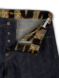 Edwin X Blitz ED-71 Red Listed Selvedge Denim