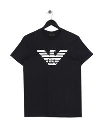 Emporio Armani Basic Eagle T-Shirt Navy