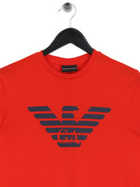 Emporio Armani Basic Eagle T-Shirt Red