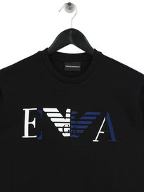 Emporio Armani Block Sweat Black