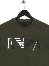 Emporio Armani Block Sweat Khaki Green