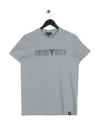 Emporio Armani Shadow Logo T-Shirt Grey