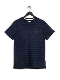 Farah Aidan Short Sleeve T-Shirt Navy