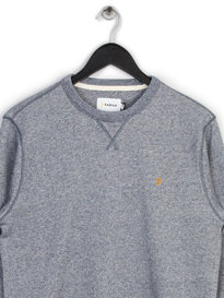 FARAH AMHURST CREW SWEAT TOP GREY