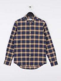 Farah Brewer Checked Long Sleeve Shirt