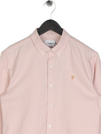 Farah Brewer Long Sleeve Shirt Pink