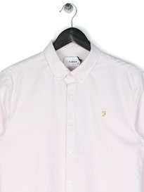 Farah Brewer Slim Long Sleeve BD Shirt Lilac
