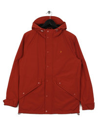 Farah Brodie Snpcf HD Jacket Orange Rust