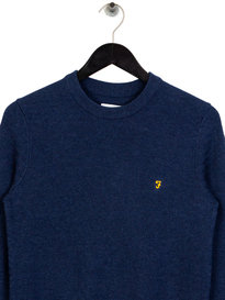 Farah Darren Crewneck Sweat Navy