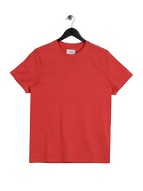 Farah Denny Slim Marl T-Shirt Red