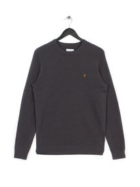 Farah Ealing Crew Neck Sweat Grey