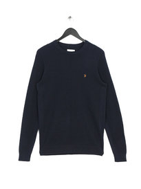 Farah Ealing Crew Neck Sweat Navy