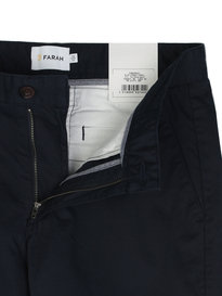 Farah ELM Chino Twill Trouser Navy