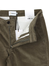 Farah ELM Stretch Cord Pants Green