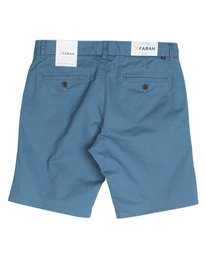 Farah Hawk Chino Shorts Blue