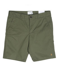 Farah Hawk Chino Shorts Green