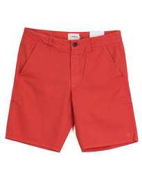 Farah Hawk Chino Shorts Red