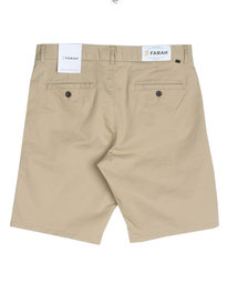 Farah Hawk Chino Shorts Sand Brown