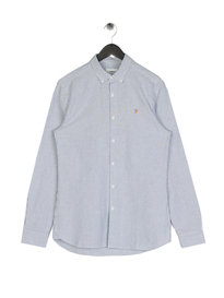 Farah Hemsley Long Sleeve Shirt Blue