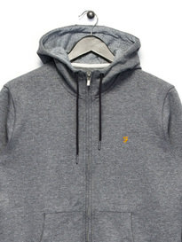 Farah Hicks Hoody Grey