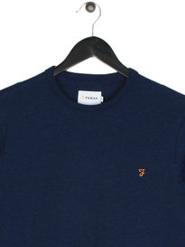 Farah Hormead Long Sleeve T-Shirt Navy