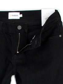 Farah Howells Stretch Black Denim