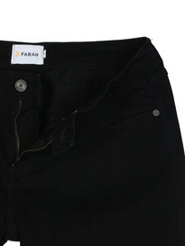 Farah Howells Stretch Denim Black