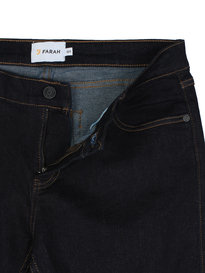 Farah Howells Stretch Denim Indigo