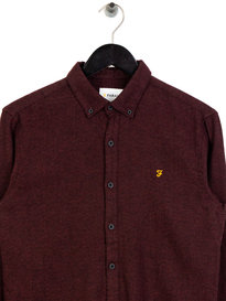 Farah Kreo Shirt Dark Red
