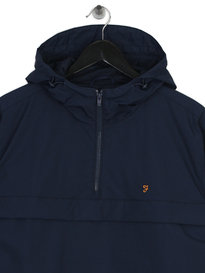 Farah Mani Overshirt HD SOL Jacket Navy