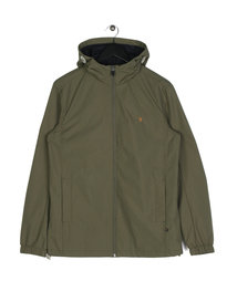 Farah Newbern HD Zip Cf Sol Jacket Green