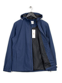 FARAH NEWBERN HD ZIPCF SOL JACKET NAVY