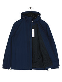 Farah Newbern HD Zip Cf Sol Jacket Navy